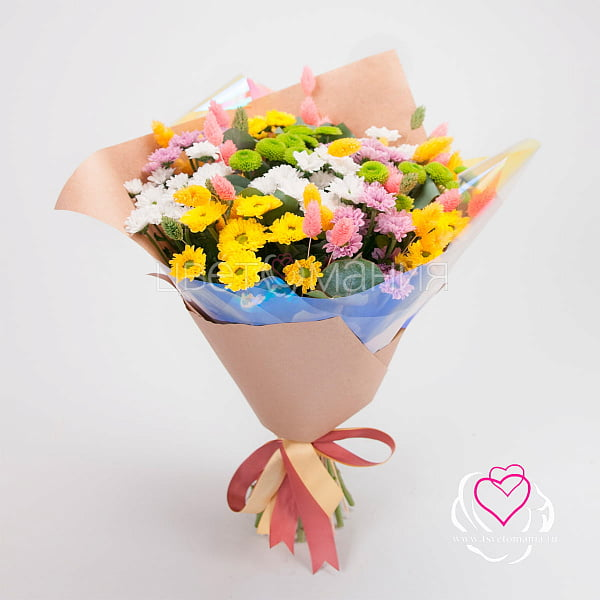 Недорогие букет цветов до 500 рублей спб